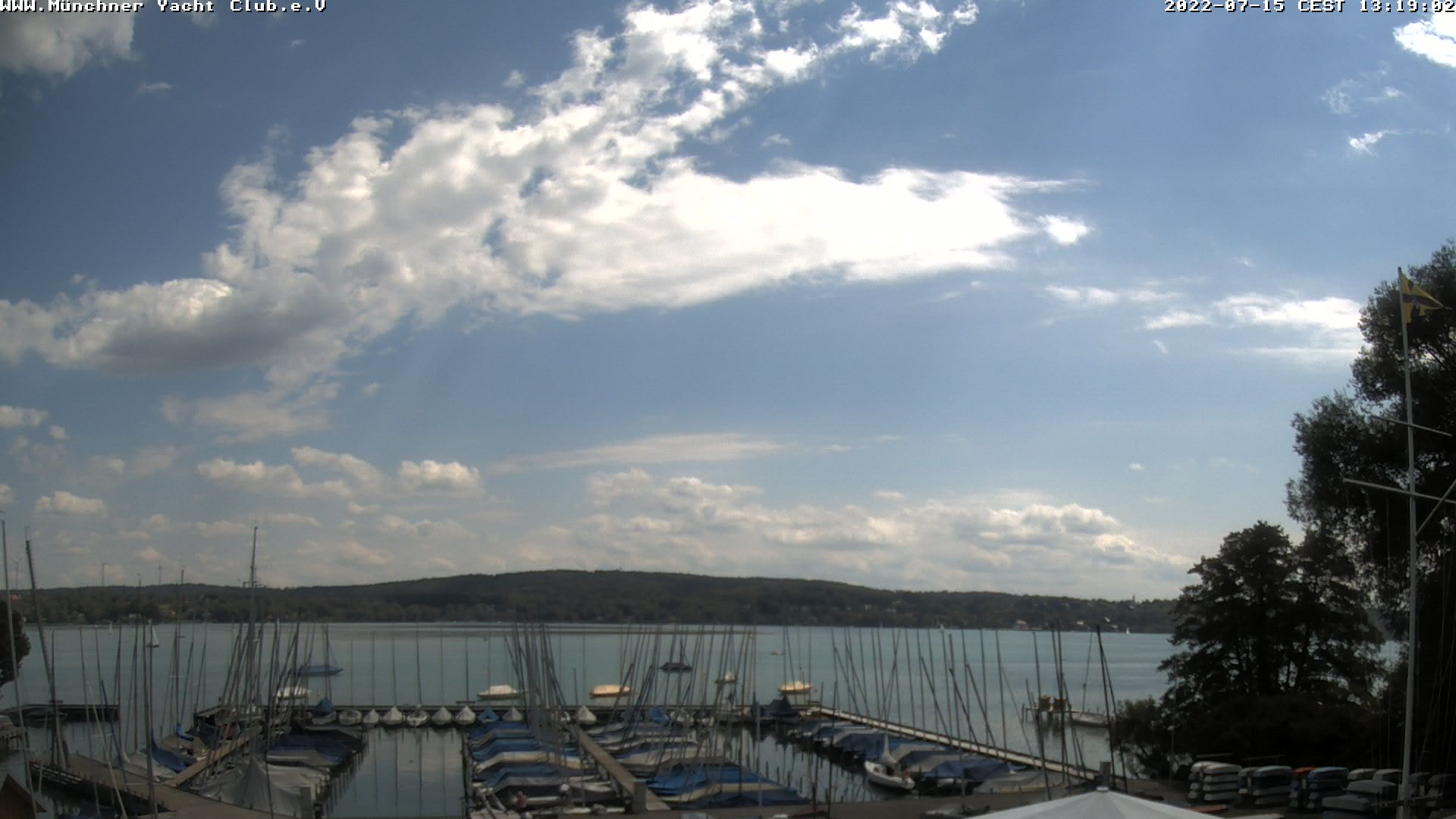 Webcam Münchner Yacht-Club, Starnberg